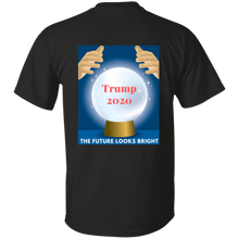 Load image into Gallery viewer, Black Trump 2020 The Future Looks Bright T-shirt