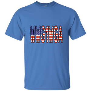 WWG1WGA American Flag Men's T-Shirt