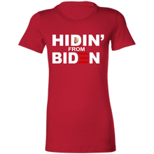 Load image into Gallery viewer, Hidin' From Biden Women's T-shirt