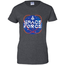 Load image into Gallery viewer, Charcoal Grey Trump Space Force T-shirt