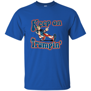 Royal Blue Trump Keep On Trumpin Kids T-shirt