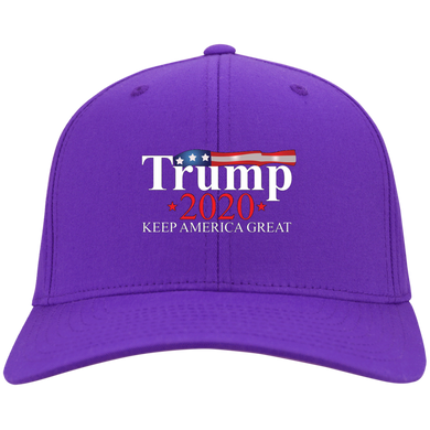 Purple Trump 2020 Keep America Great Hat