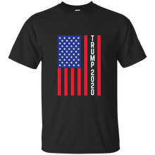 Load image into Gallery viewer, Black Trump 2020 Flag Men's T-shirt