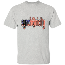 Load image into Gallery viewer, Ash synchQnicity American Flag Q/Qanon T-shirt
