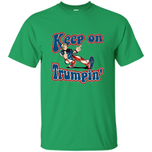 Load image into Gallery viewer, Green Trump Keep On Trumpin Kids T-shirt