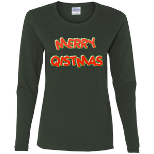 Merry Qistmas Women's Long Sleeve Shirt