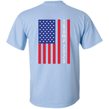 Load image into Gallery viewer, Light Blue Trump 2020 Flag Men's T-shirt