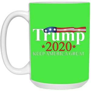 Green Trump 2020 Keep America Great Mug