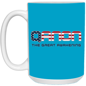 Blue Qanon The Great Awakening Mug