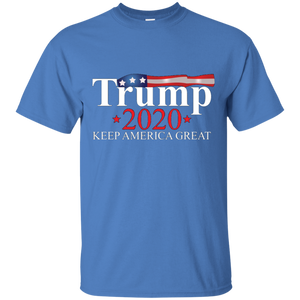 Blue Trump 2020 Keep America Great T-shirt