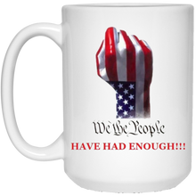 Load image into Gallery viewer, White We The People Ceramic Mug