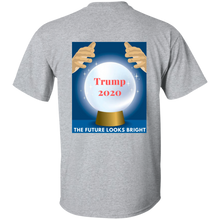 Load image into Gallery viewer, Grey Trump 2020 The Future Looks Bright T-shirt
