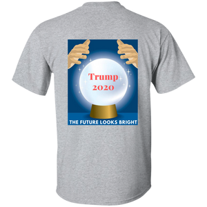 Grey Trump 2020 The Future Looks Bright T-shirt