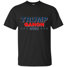 Load image into Gallery viewer, Black Qanon Trump Qanon 2020 T-shirt
