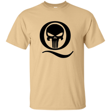 Load image into Gallery viewer, Tan Q Skull Q/Qanon T-shirt