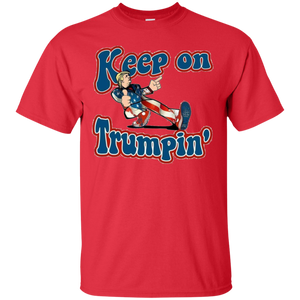 Red Keep On Trumpin T-shirt