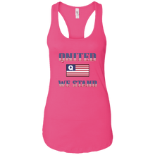 Load image into Gallery viewer, Pink Qnited We Stand Q/Qanon Tank Top