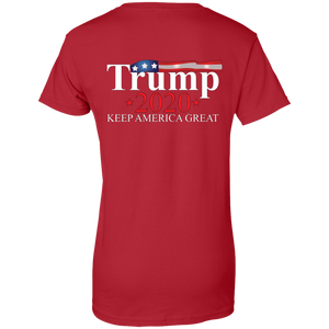 Red Trump 2020 Keep America Great T-shirt