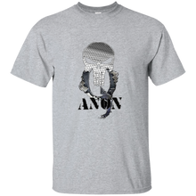 Load image into Gallery viewer, Grey Qanon Punisher Skull T-shirt