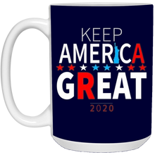 Load image into Gallery viewer, Navy Blue Trump - Keep America Great Mug