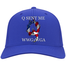 Load image into Gallery viewer, Royal Q Sent Me WWG1WGA Q/Qanon Hat