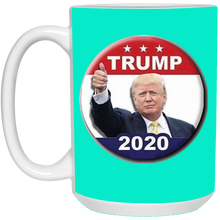 Load image into Gallery viewer, Teal Trump 2020 Ceramic Mug