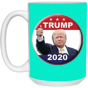 Teal Trump 2020 Ceramic Mug