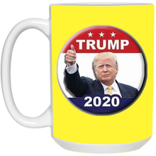 Load image into Gallery viewer, Yellow Trump 2020 Ceramic Mug