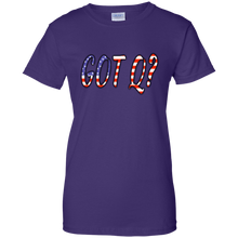 Load image into Gallery viewer, Purple Got Q American Flag Q/Qanon T-shirt