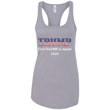 Load image into Gallery viewer, Grey Trump Elect That MF'er Again Women's Tank Top