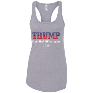 Grey Trump Elect That MF'er Again Women's Tank Top