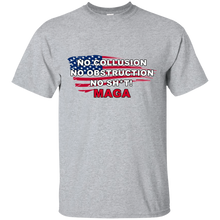 Load image into Gallery viewer, Grey Trump - No Collusion No Obstruction No Sh*t MAGA Mug T-shirt
