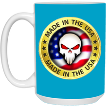 Load image into Gallery viewer, Blue Joe M Logo Qanon Mug