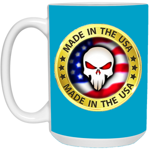 Blue Joe M Logo Qanon Mug