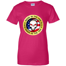Load image into Gallery viewer, Pink Joe M Qanon Logo T-shirt