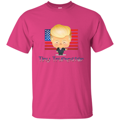 Pink Trump Tiny Trumpster Kids T-shirt