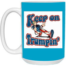 Load image into Gallery viewer, Blue Trump Ceramic Mug