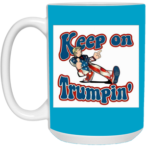 Blue Trump Ceramic Mug