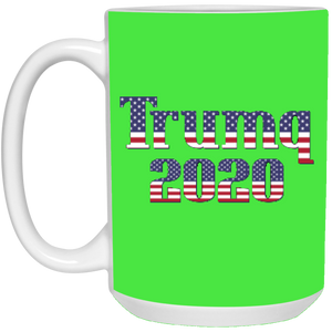 Green Trumq 2020 Ceramic Mug