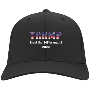 Black Trump Elect That MF'er Again 2020 Hat