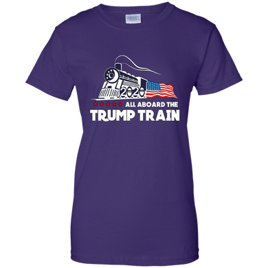 Trump All Aboard The Trump Train Women's T-Shirt