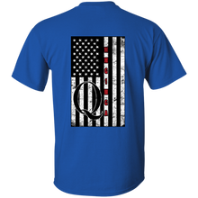 Load image into Gallery viewer, Royal Blue Qanon WWG1WGA Flag Men's T-shirt