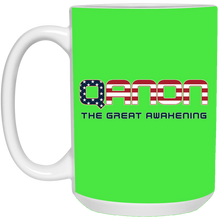 Load image into Gallery viewer, Green Qanon The Great Awakening Mug