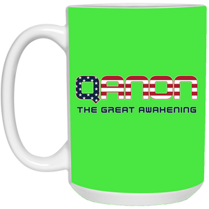Green Qanon The Great Awakening Mug