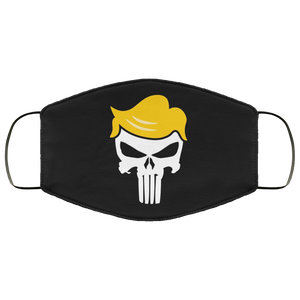 Trump/Qanon Punisher Skull Face Mask