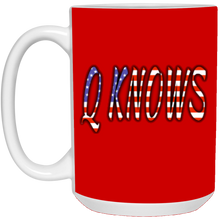 Load image into Gallery viewer, Red Q KNOWS Ceramic Mug