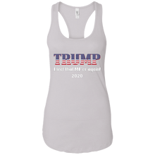 Load image into Gallery viewer, White Trump Elect That MF'er Again Women's Tank Top