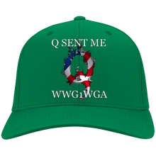Load image into Gallery viewer, Green Q Sent Me WWG1WGA Q/Qanon Hat