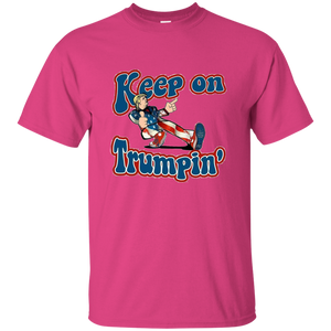 Pink Trump Keep On Trumpin Kids T-shirt