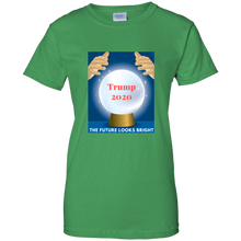Load image into Gallery viewer, Green Trump 2020 The Future Looks Bright T-shirt